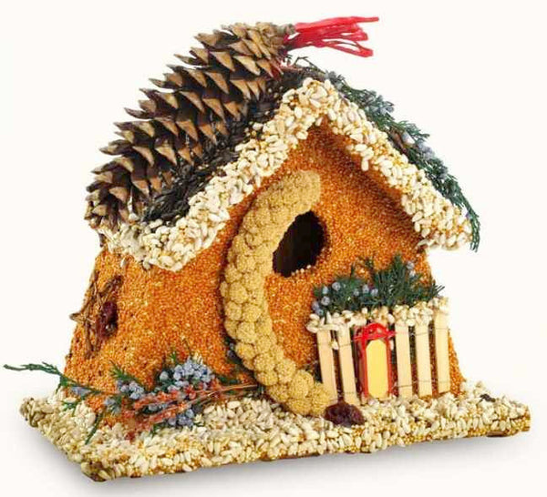 Bed Amp Breakfast Chalet Edible Birdhouse By Mr Bird The Birdhouse Chick