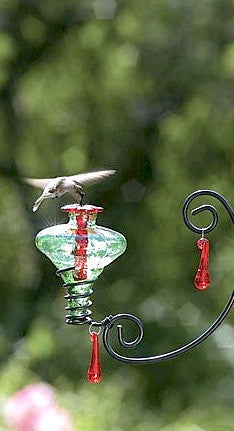 Mini Blossom Chandelier Hummingbird Feeder The Birdhouse
