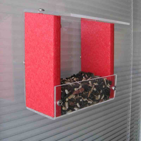 Recycled Window Bird Feeder