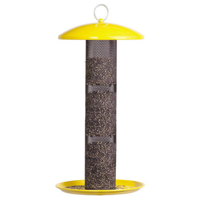 No-No Yellow Finch Feeder Baffle Detail