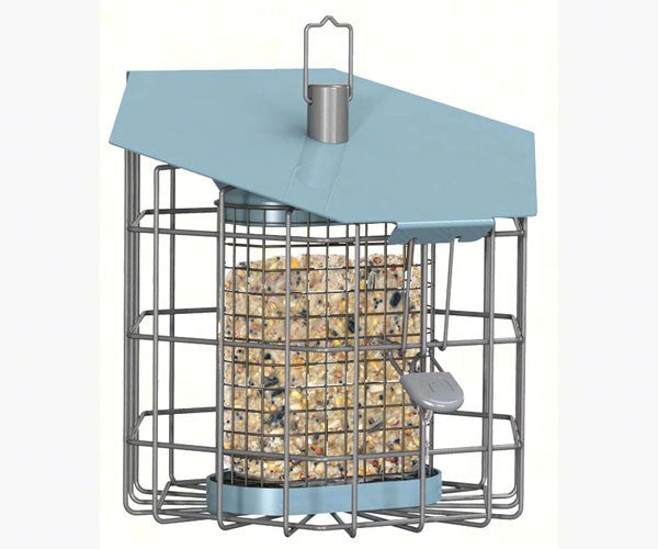 Nuttery Caged Suet Feeder