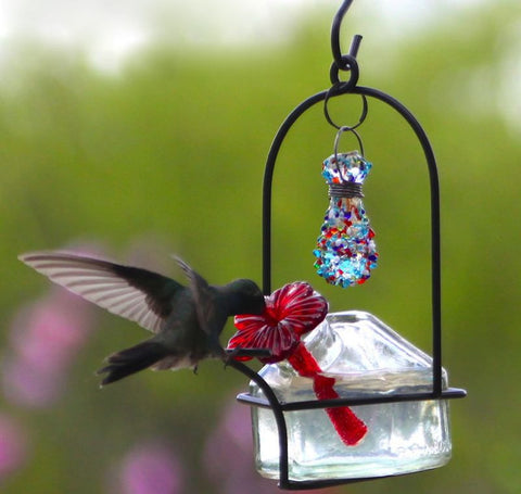 Bouquet Sparkle Hummingbird Feeder