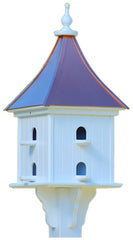 Copper Roof Purple Martin House in Vinyl/PVC, 36-inch