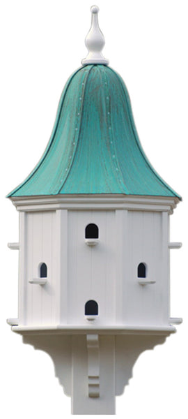 Estate Copper Roof Martin Birdhouse Vinyl Pvc 54x22 The