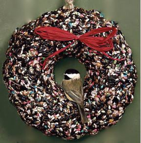 Large Bird Seed Wreath