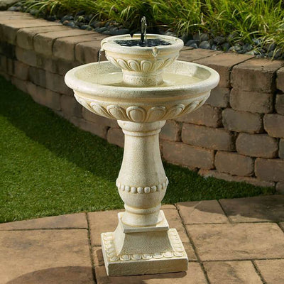 Palermo On Demand Solar Bird Bath