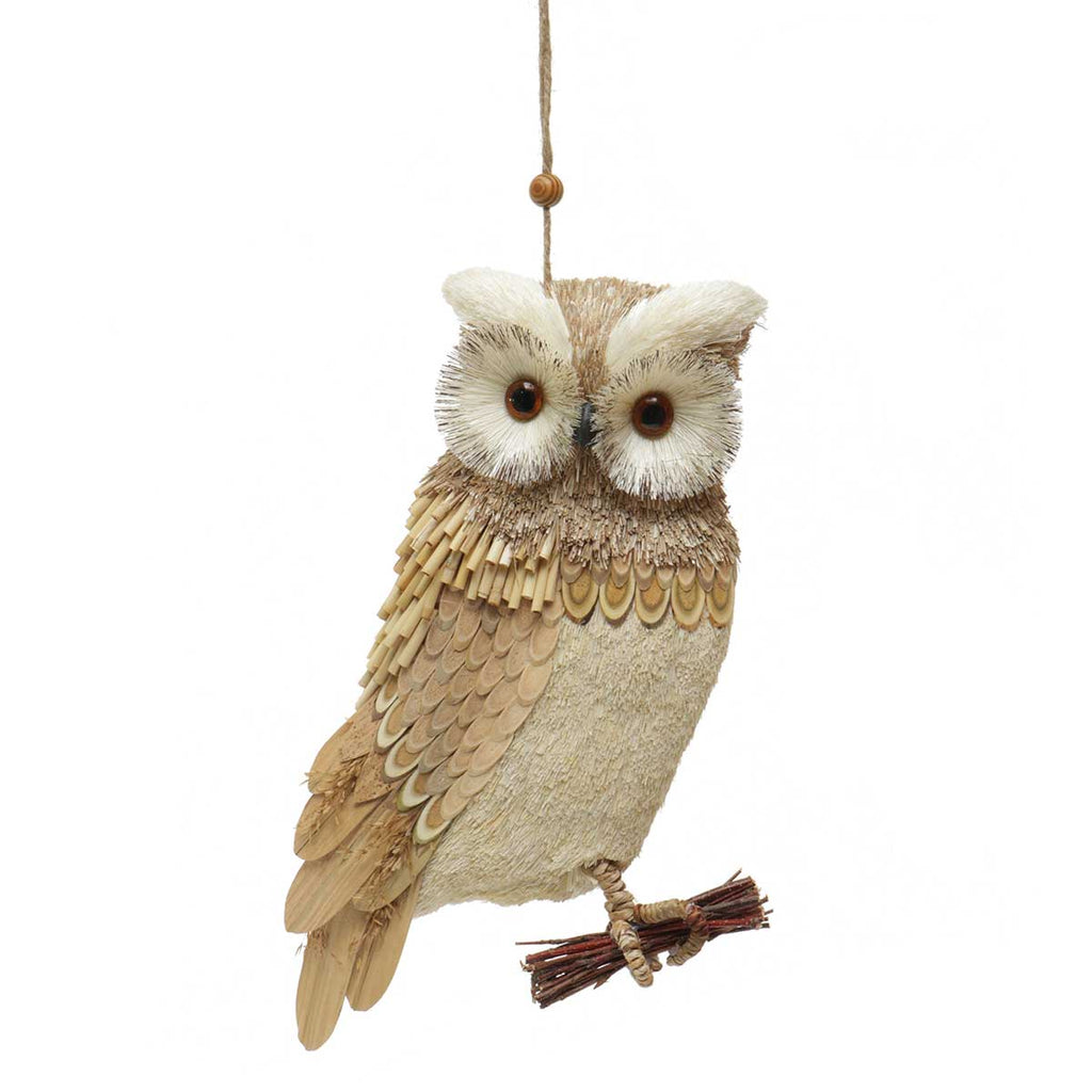 Perched Owl Wall Decor