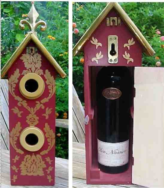 Hostess Gift Birdhouse
