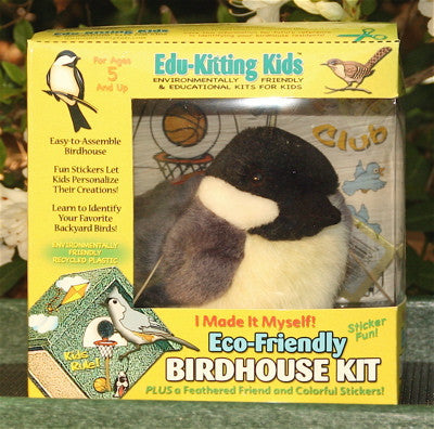 Eco Friendly BirdHouse Kit