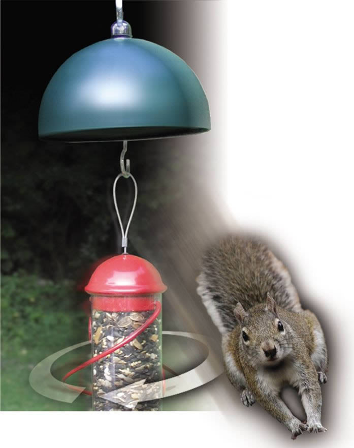 Twirl-A-Squirrel Electronic Squirrel Baffle