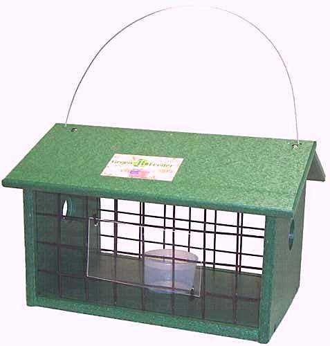 Mealworm Jail Feeder-Recycled Plastic