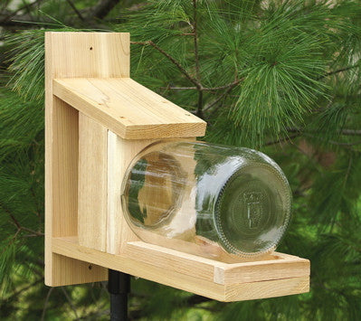 Squirrel Jar Feeder Replacement The Birdhouse Chick