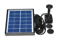 Solar Fountain Pump Kit