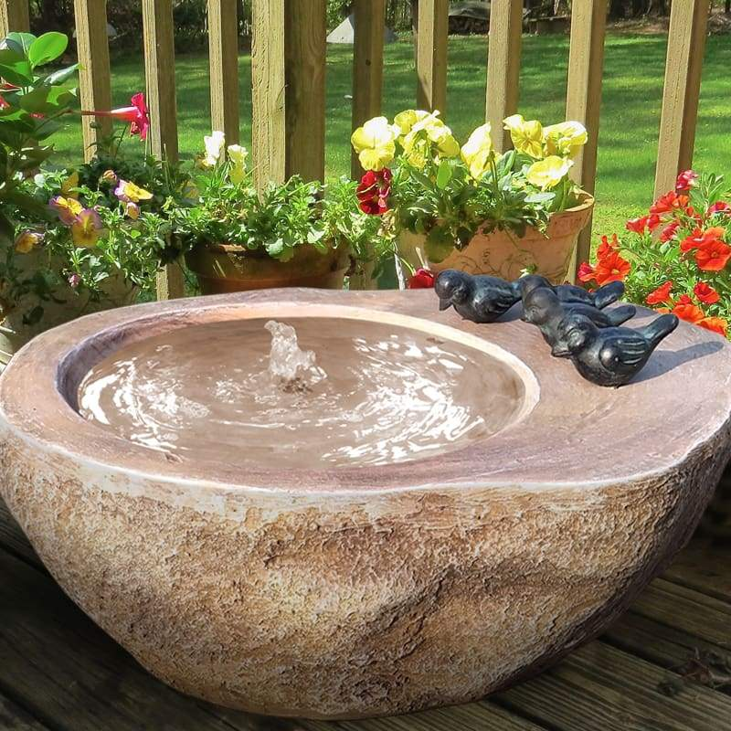 Splash Pool Birdbath Bubbler