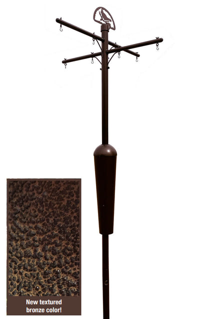 Squirrel Stopper Deluxe Bird Feeder Pole System