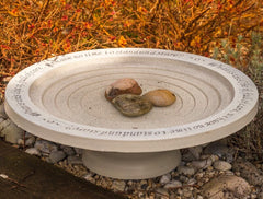 Step-In Birdbath on Short Base