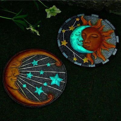 Sun and Moon Stepping Stones