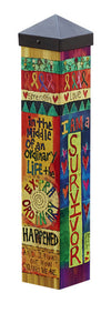 Survivor Art pole