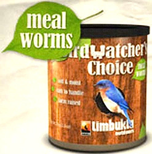 Birdwatcher's Choice Soft Mealworms-2500 Count