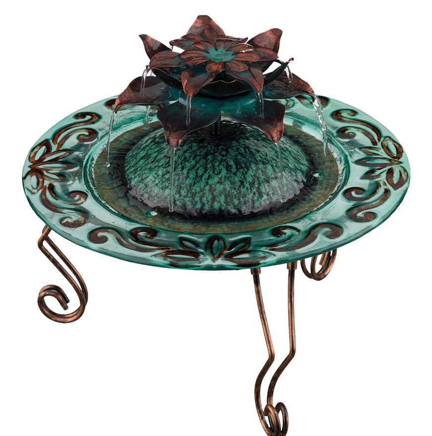 Table-Top Lotus Fountain