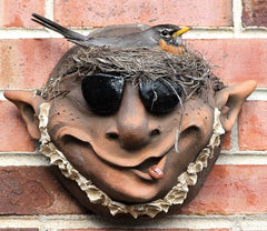 Troll Wall Pocket Planter with Shades
