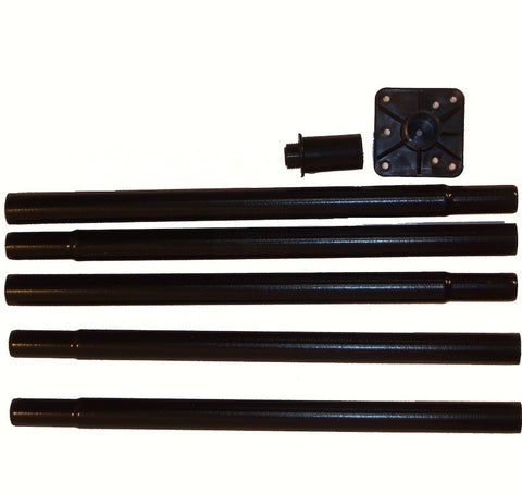 Universal Garden Pole Kit w/ Adapters
