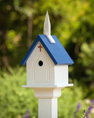 Church Birdhouse Vinyl/PVC