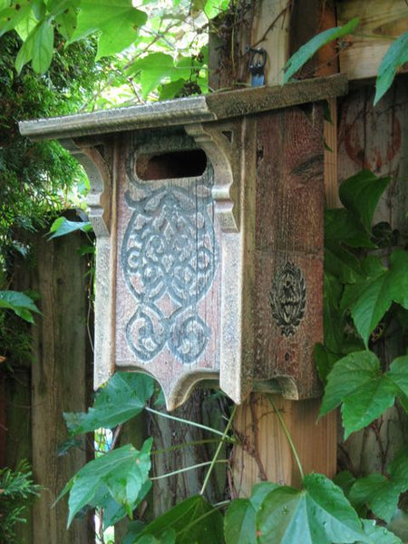 Victorian Bluebird House In Barn Wood Nabs Approved The