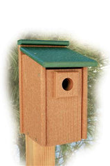 Recycled Western Bluebird House