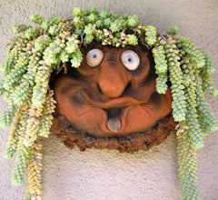 Wall Pocket Troll Planter