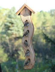 Large Wave Seed Feeder