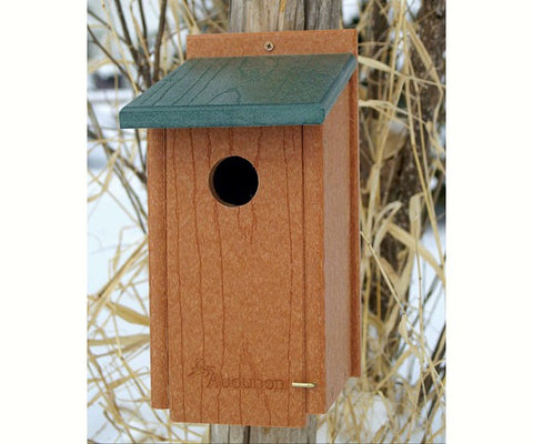 Recycled Western Bluebird House-NABS Approved