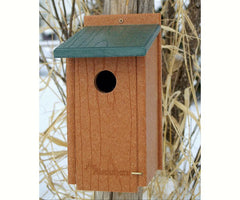 Going Green Recycled Western Bluebird House