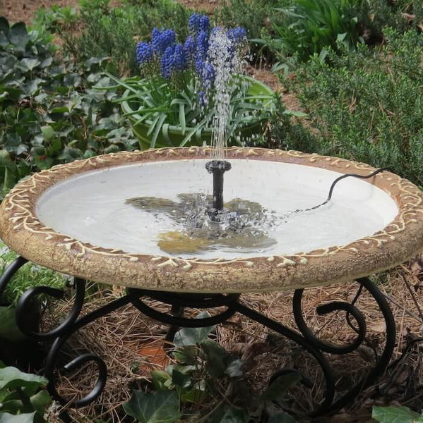 Large Solar Fountain Bird Bath Solar Bird Baths Unique