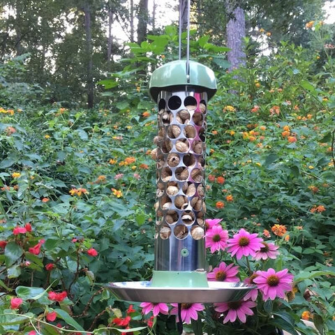 Stainless Steel Whole Peanut Bird Feeder