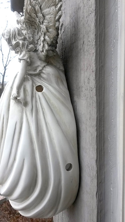 Angel Birdhouse Ventilation Detail