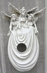 Angels Over Me Birdhouse