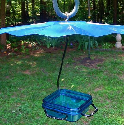 Mealworm Feeder with Weather Guard
