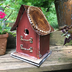 Barn Wood and Tin Rustic Birdhouses
