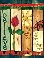 Believe Art Pole 4-sided detail