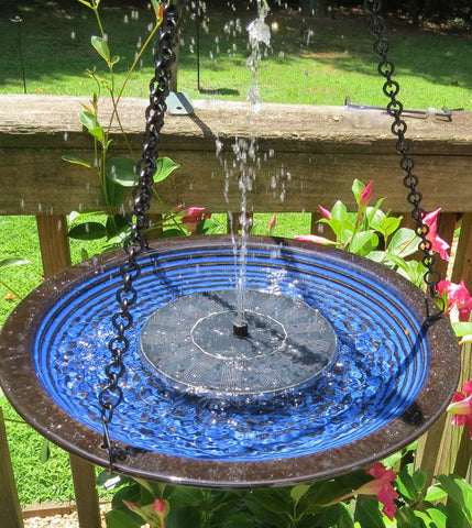 Bird Bath Fountains Leaf Misters Solar Bird Fountains