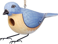 Bluebird Look-Alike Wooden Birdhouse