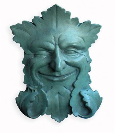 Bronze Green Man Sculpture- Limited Edition