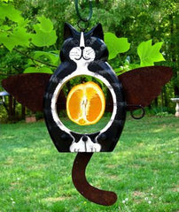 Angel Cats Fruit and Suet Feeder