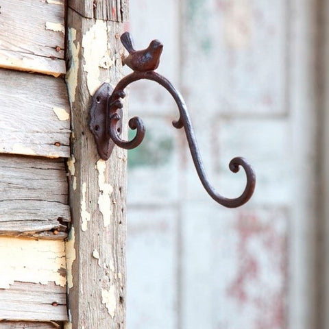 Cast Iron Scroll Hanger