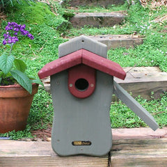 Cedar Bluebird Birdhouse with Side Door