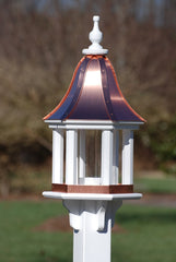 Copper Roof Bird Feeder-Vinyl Gazebo 28x12