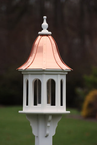 Copper Roof Bird Feeder-Vinyl/PVC 36x14