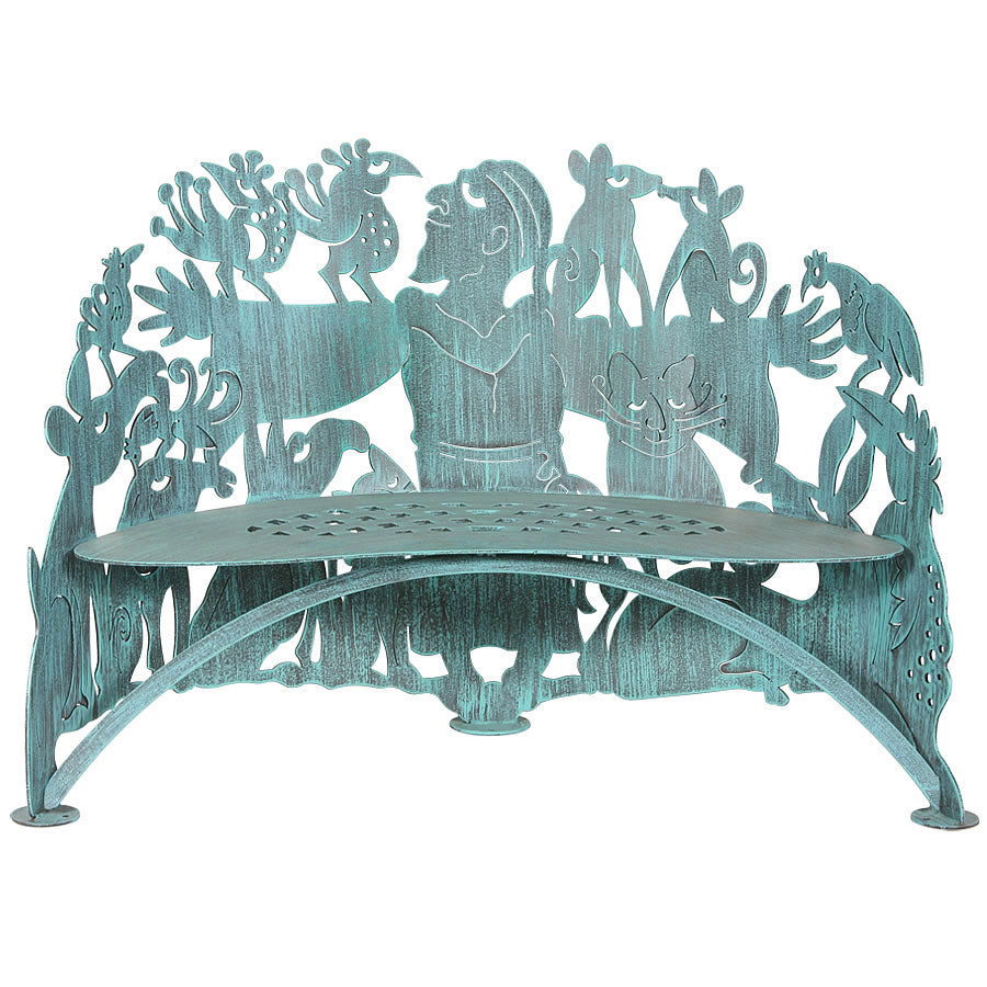 Cricket Forge Saint Francis Bench