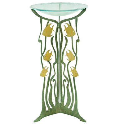 Cricket Forge Bird Bath- Fish